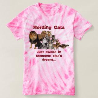 Reuniendo los gatos - gestión de la oferta camiseta