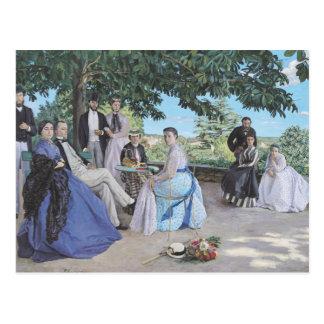 Reunión de familia, 1867 postal