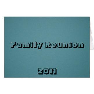 Reunión de familia 2011 tarjeton