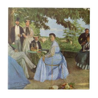 Reunión de familia de Frédéric Bazille Azulejos Ceramicos