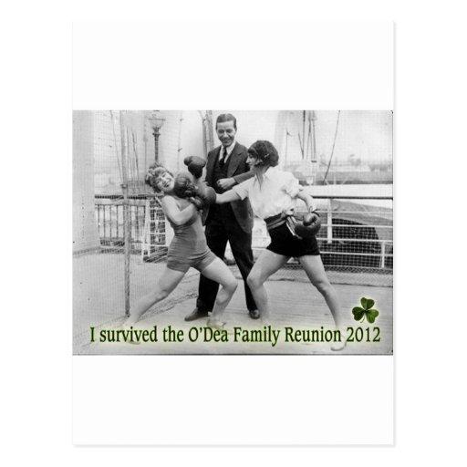 Reunión de familia de O'Dea '12 (mujeres) Tarjetas Postales