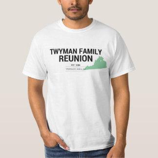Reunión de familia de Twyman Camiseta