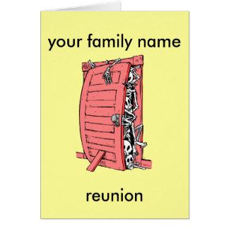 reunión de familia divertida felicitaciones