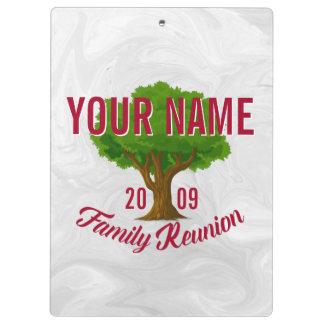 Reunión de familia personalizada árbol animado