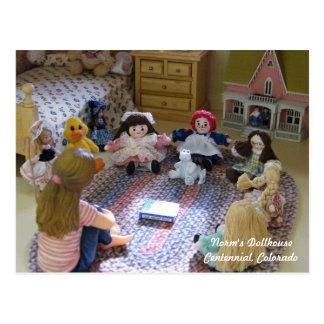 Reunión de muñecas minúsculas: ¿Cuál ES un Postal
