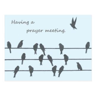 Reunión de oración postal