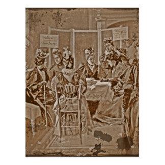 Reunión del movimiento del sufragio postal