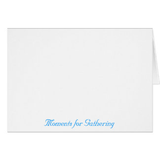 Reunión especial tarjeta pequeña