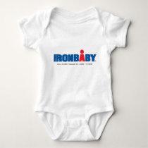 Reunión Ironbaby de Ironman Camiseta