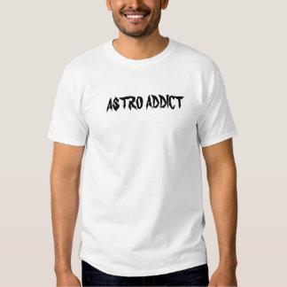 Revés del addicto de Astro Camisetas