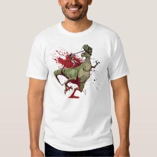 Revés del chica de Dino Camiseta