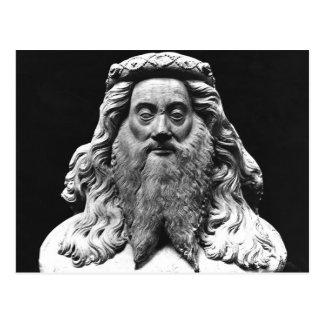 Reviente de la estatua fúnebre de Jean II de Vienn Postal