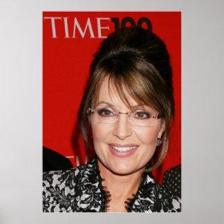 Revisto Time de Sarah Palin la mayoría 100 influye Póster
