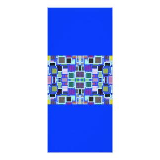 Revoltijo geométrico folleto publicitario 10 x 22,8 cm
