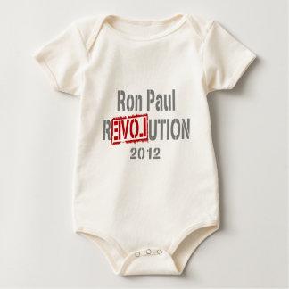 Revolución 2012 de Ron Paul Body De Bebé