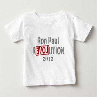 Revolución 2012 de Ron Paul Camisas
