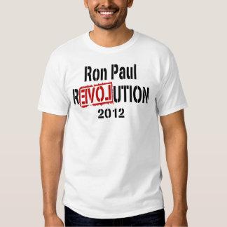 Revolución 2012 de Ron Paul Camiseta