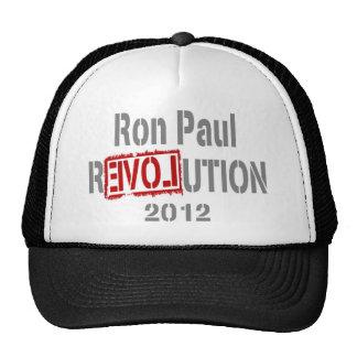 Revolución 2012 de Ron Paul Gorro De Camionero