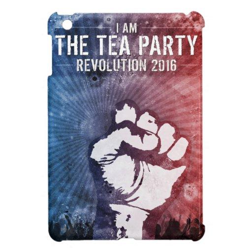 Revolución 2016 de la fiesta del té iPad mini protector