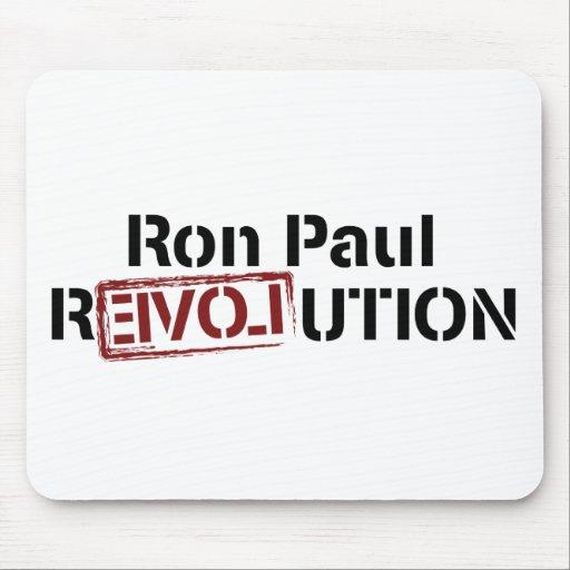 Revolución de Ron Paul Alfombrillas De Ratón