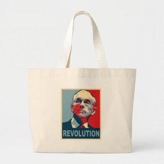 Revolución de Ron Paul Bolsa Tela Grande