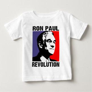 Revolución de Ron Paul Camiseta De Bebé