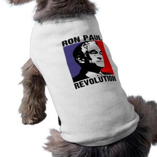 Revolución de Ron Paul Camiseta Sin Mangas Para Perro