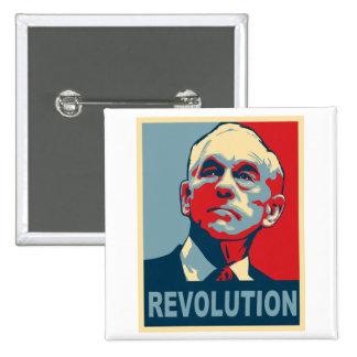 Revolución de Ron Paul Chapa Cuadrada