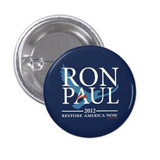 Revolución de Ron Paul Chapa Redonda De 2,5 Cm