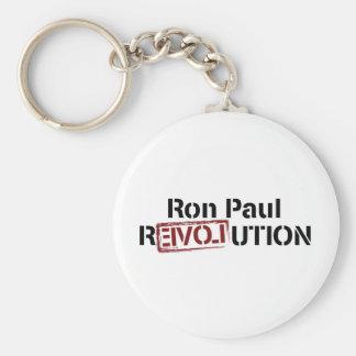 Revolución de Ron Paul Llavero Redondo Tipo Chapa