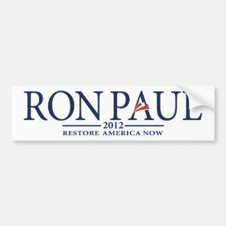 Revolución de Ron Paul Pegatina Para Coche