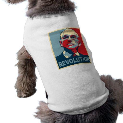 Revolución de Ron Paul Ropa Perro