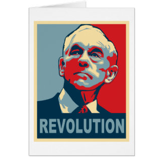 Revolución de Ron Paul Felicitaciones