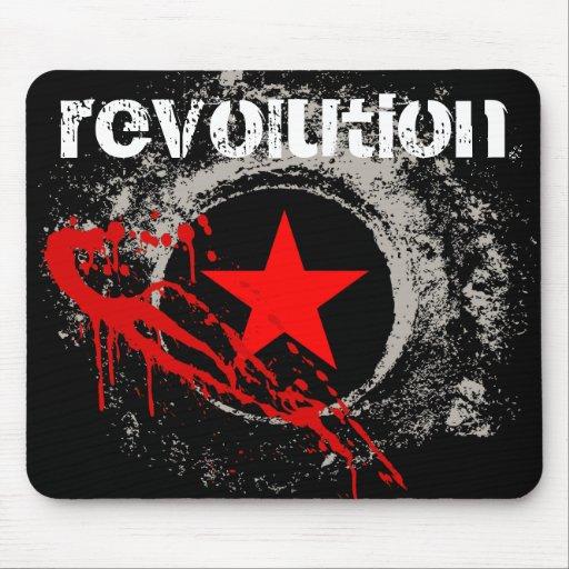 Revolución Mousepad Tapetes De Ratón
