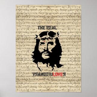 Revolucionario del Jesucristo Póster