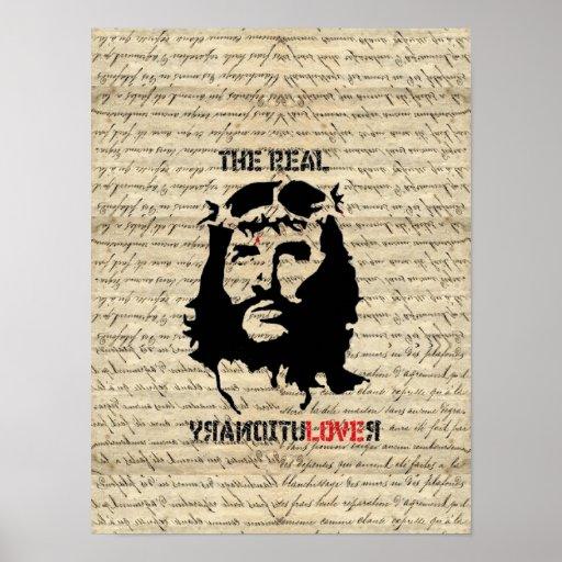 Revolucionario del Jesucristo Poster