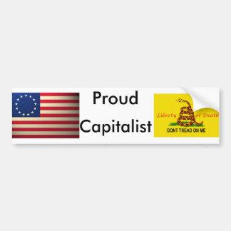 revolucionario-guerra-bandera, copia del treadonme pegatina de parachoque
