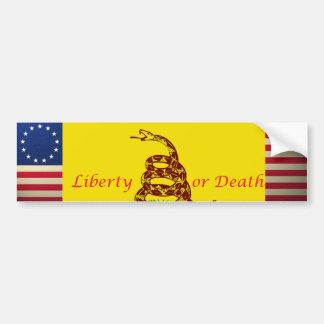 revolucionario-guerra-bandera, revolucionario-guer pegatina de parachoque