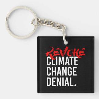 REVOQUE la NEGACIÓN del CAMBIO de CLIMA - - Llavero