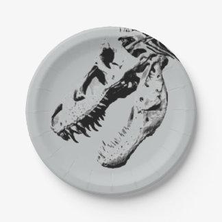 Rex del Tyrannosaurus Plato De Papel