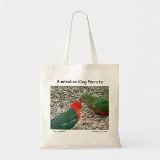 Rey australiano Parrots Bolso De Tela