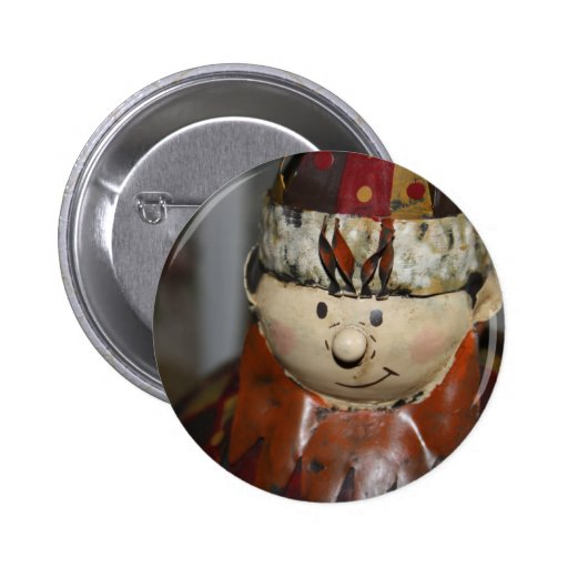 Rey Christmas Ornament Badge Pins
