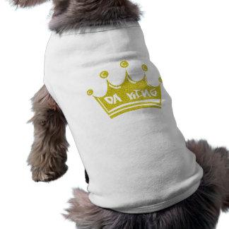 Rey de DA Camiseta Sin Mangas Para Perro