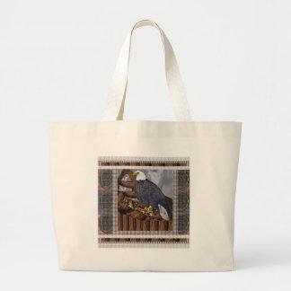 Rey de EAGLE del pájaro del hábitat de Bolsas