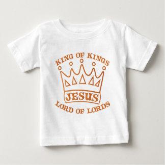 Rey de JESÚS de la pendiente del naranja de reyes Camiseta