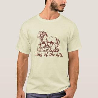 Rey de la colina camiseta