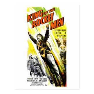 Rey de la postal de los hombres de Rocket