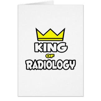 Rey de la radiología tarjetón