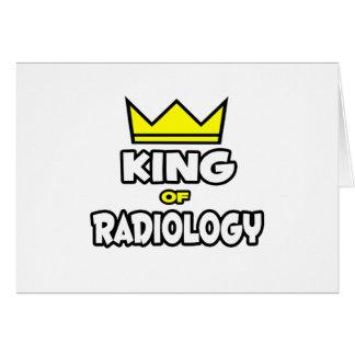 Rey de la radiología tarjeta