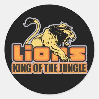Rey de la selva pegatinas